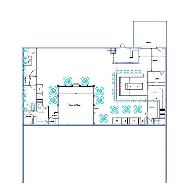 New Rainbow Lounge releases floorplan