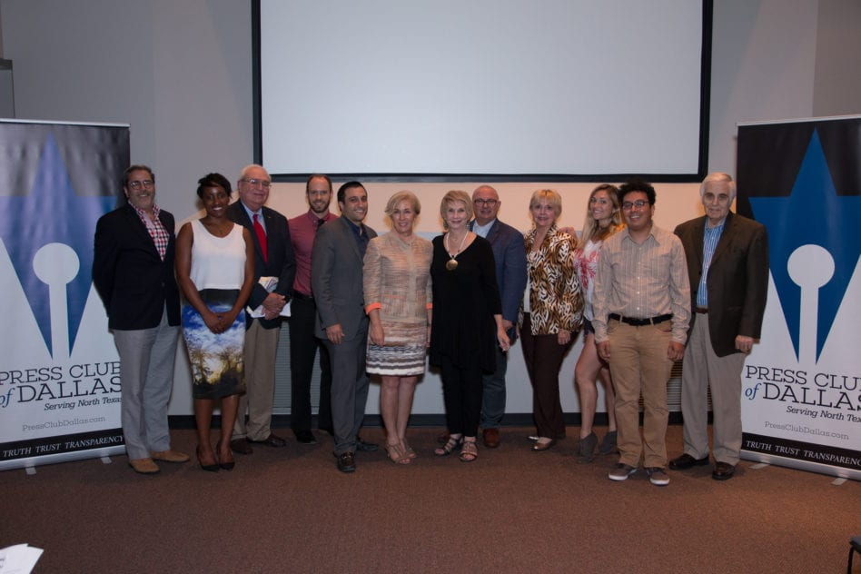 Press Club of Dallas elects new board, bestows scholarships; journalism awards relaunched