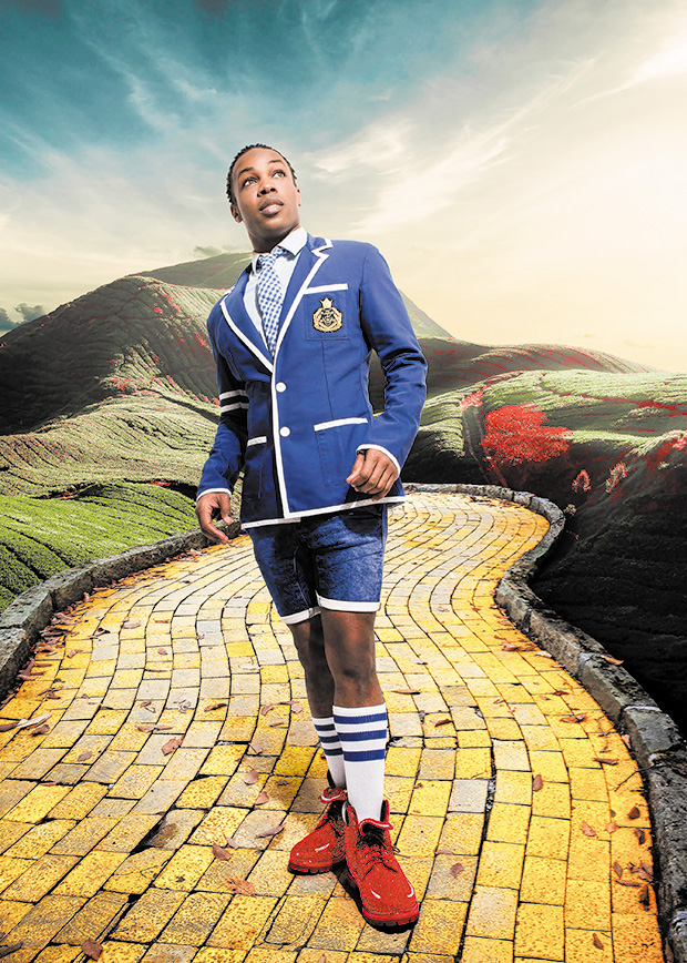Todrick Hall walks the Yellow Brick Road