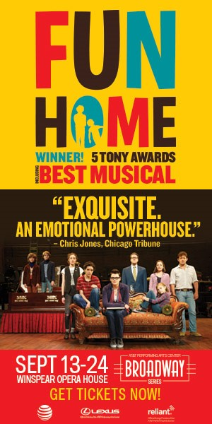 Pride night at 'Fun Home' at the Winspear