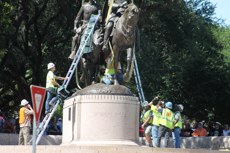 Pro-statue rally set for Saturday in Lee Park