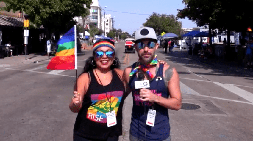 DVtv On The Scene: Brandi, Brad and Brian take the The Strip for the 2017 Dallas Pride parade