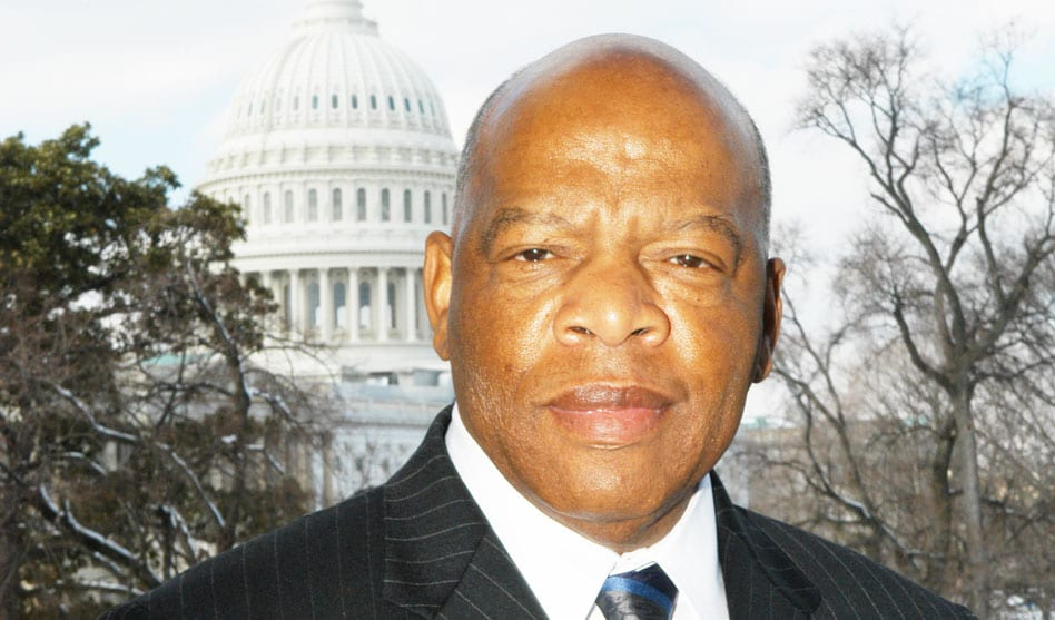 Civil-rights icon Congressman John Lewis on LGBT equality, social justice
