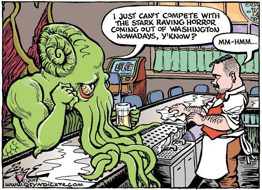 Editorial Cartoon • 10-20-17