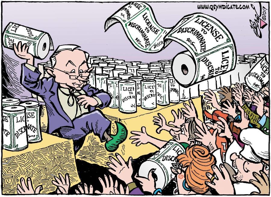 Editorial Cartoon • 10-13-17
