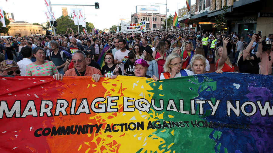 Same-sex marriage begins in Australia