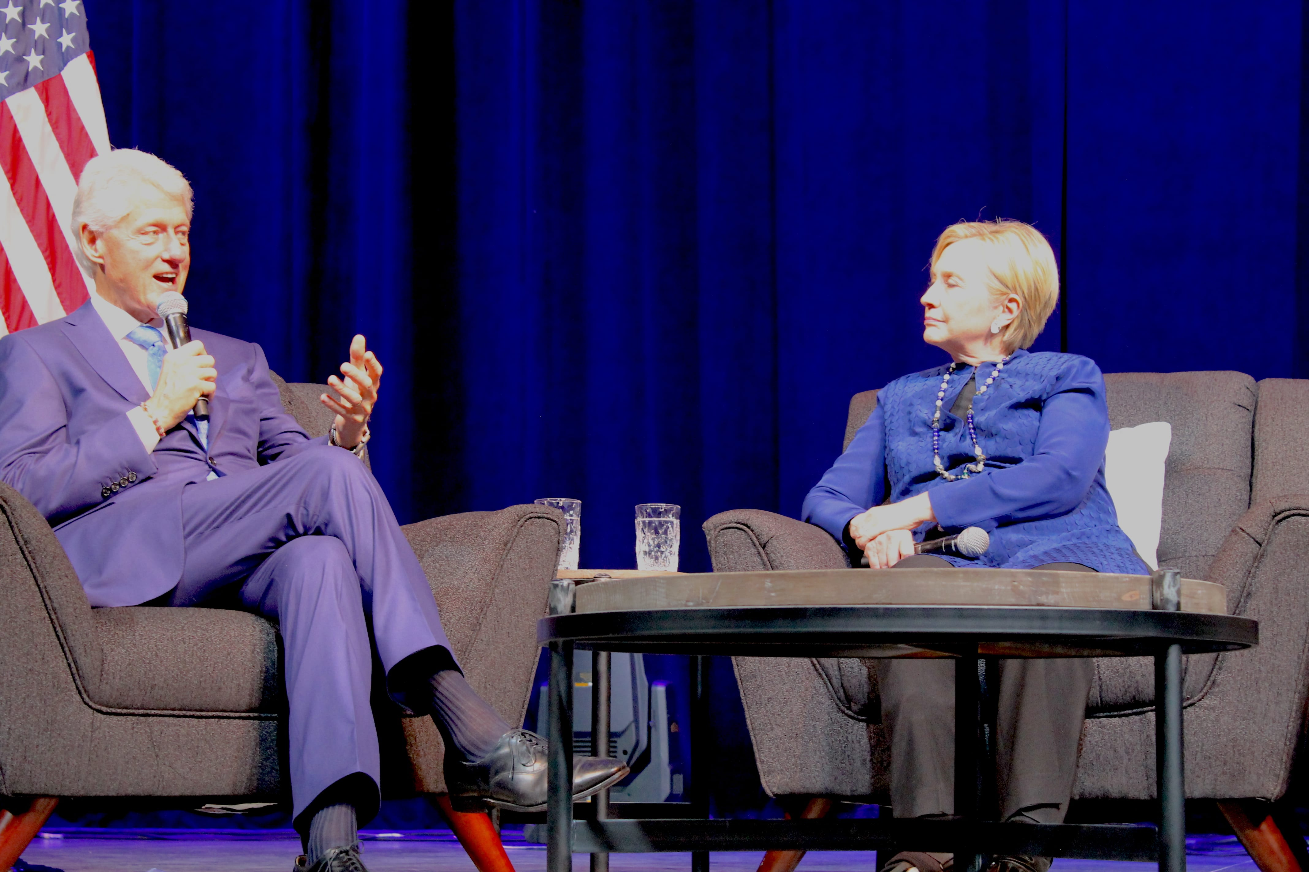 Clintons appear at first-of-its-kind event in Irving