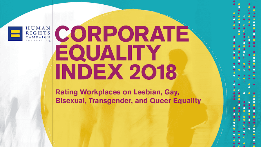 Exxon gets a 95 on the Corporate Equality Index