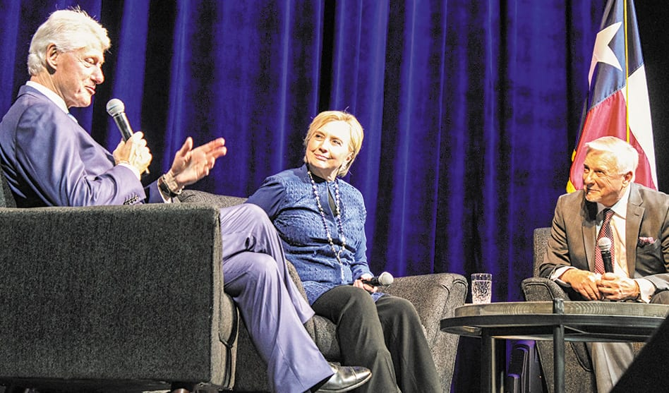 Chatting with the Clintons