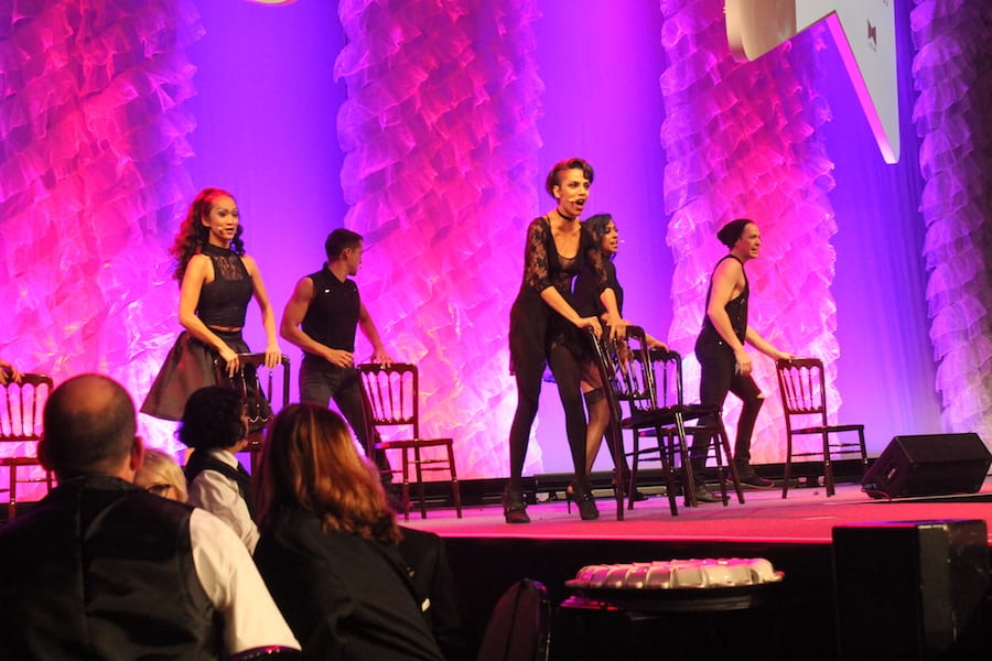 Performance of 'Cell Block Tango' from 'Chicago' choreographed by Jeremy Dumont