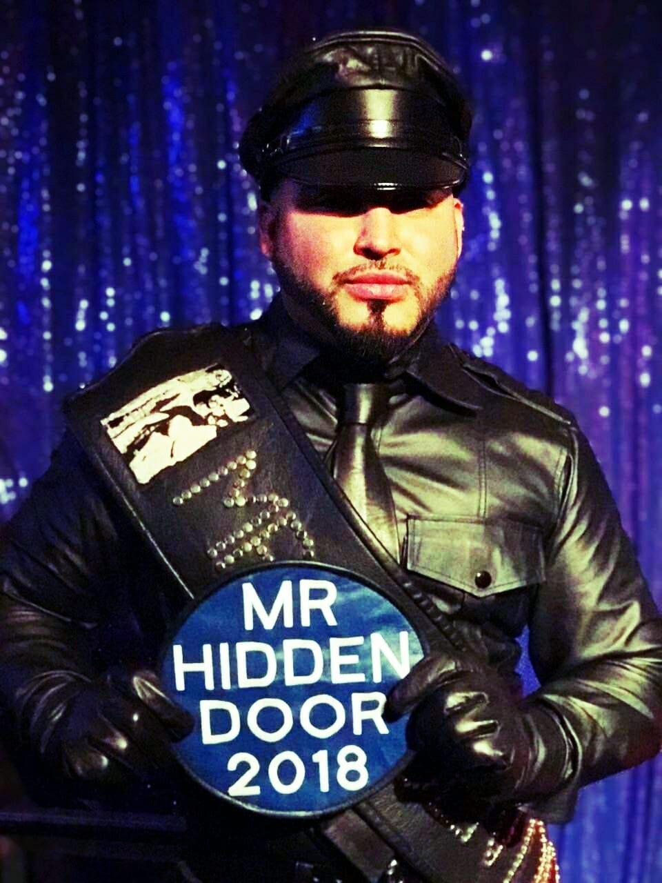 Say hello, sir, to Mr. Hidden Door 2018