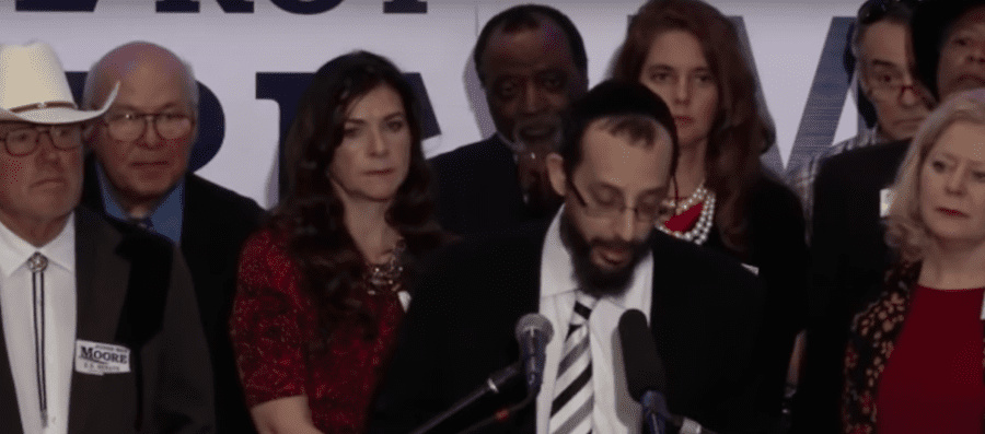 So-called rabbi defends Roy Moore