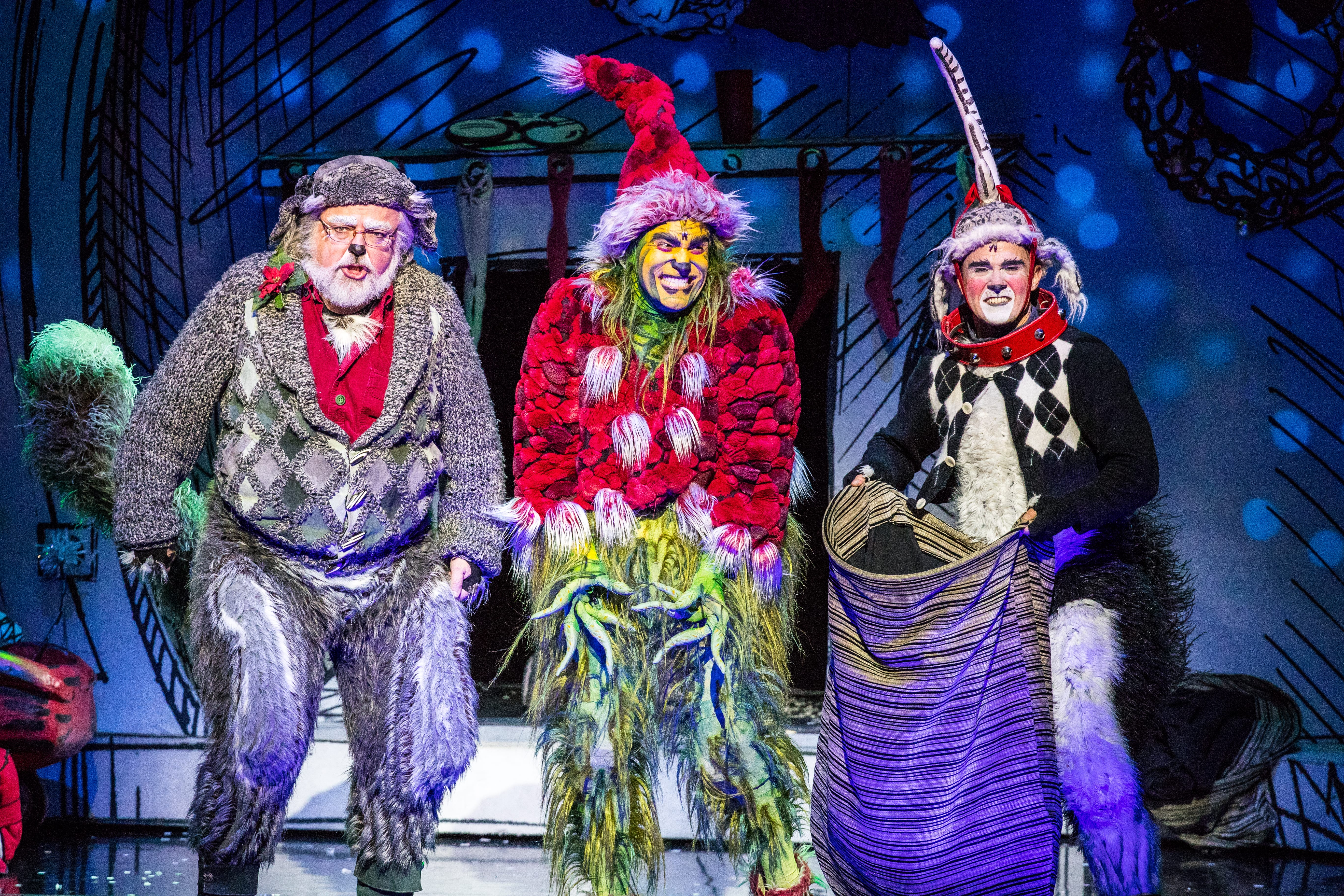 STAGE REVIEW: 'How the Grinch Stole Christmas, The Musical'
