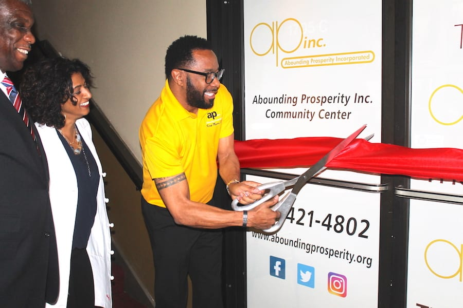 Abounding Prosperity cuts ribbon on new facility