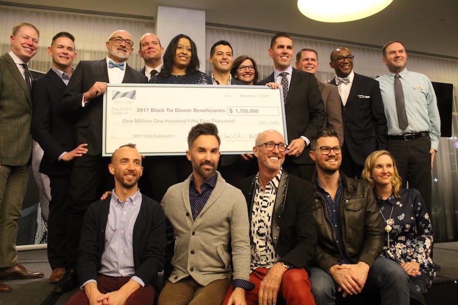 Black Tie Dinner distributes more than $1 million