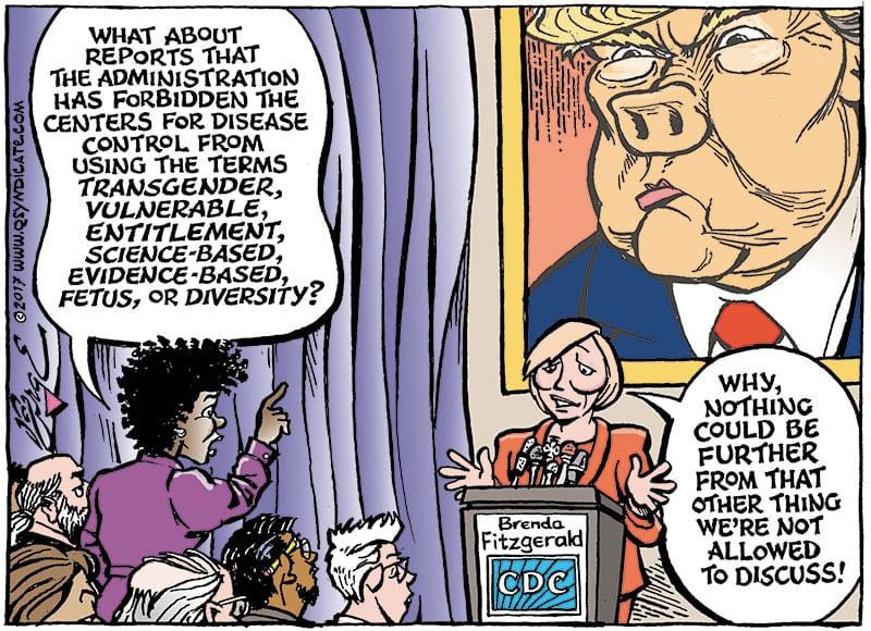 Editorial Cartoon • 12-22-17