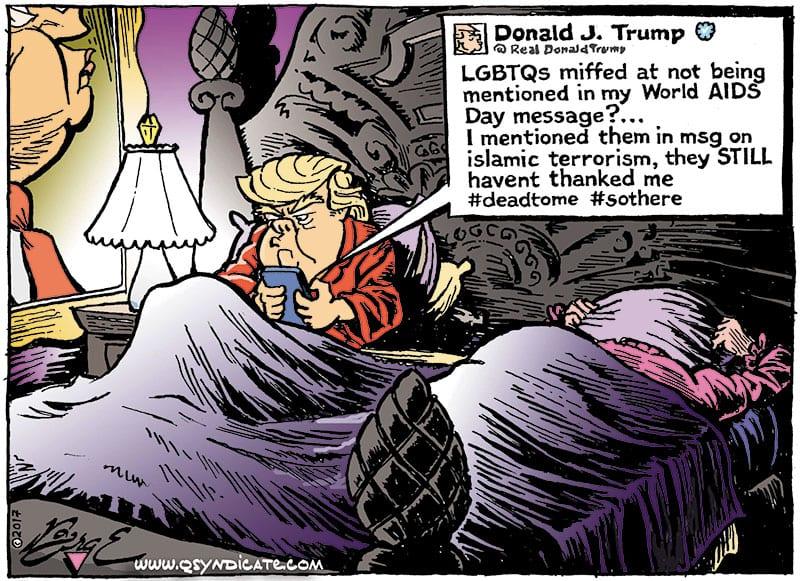 Editorial Cartoon • 12-08-17