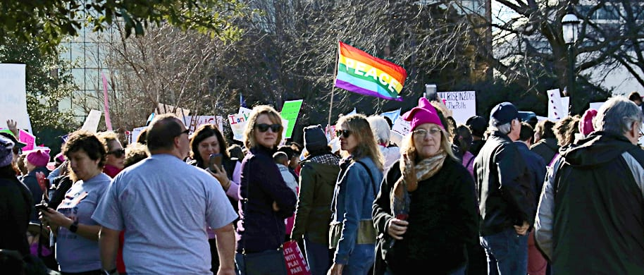 DVtv: Video from the 2018 Women's March in Fort Worth