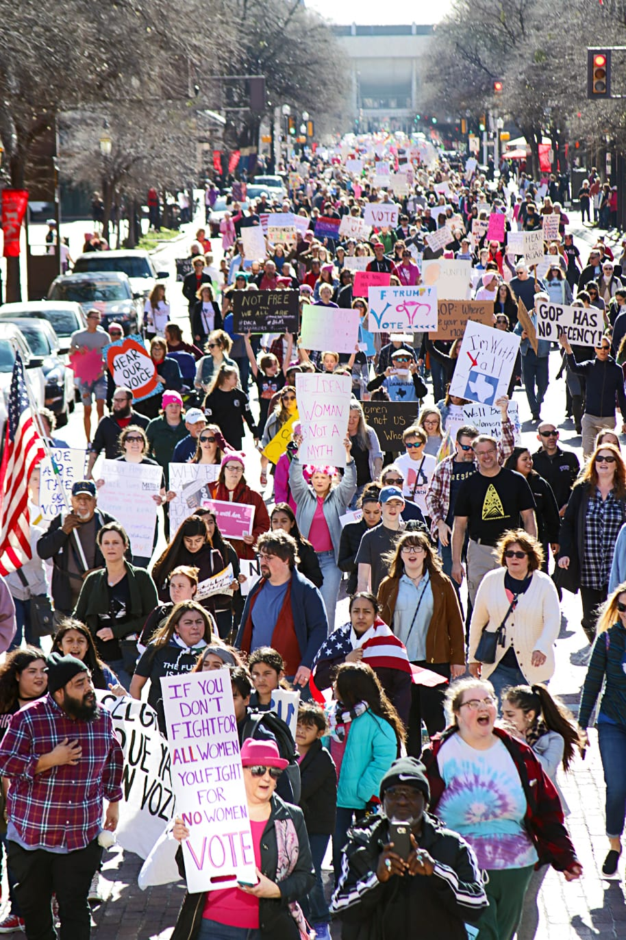 2018 Women's March — Fort Worth