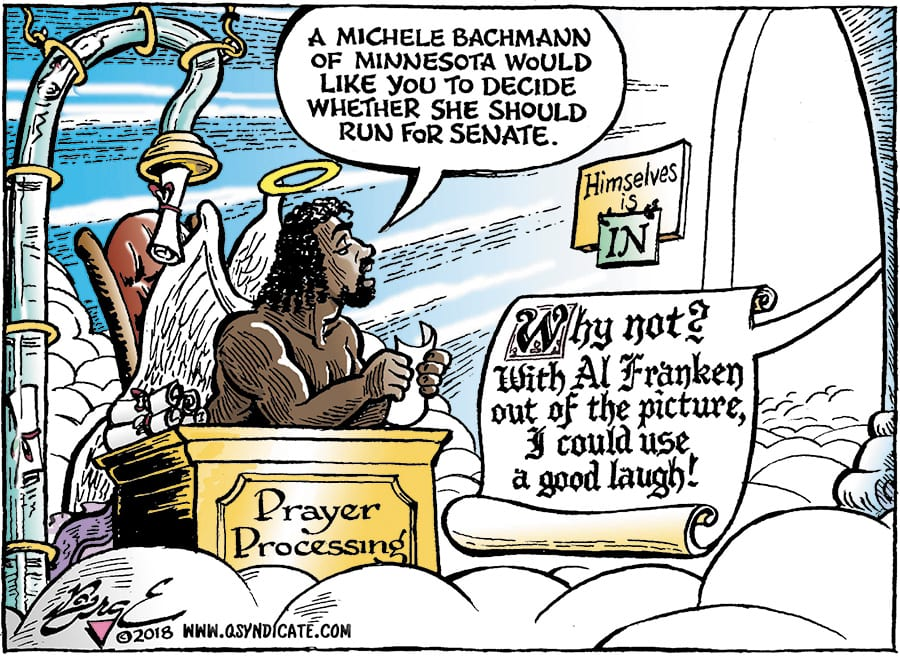 Editorial Cartoon • 01-12-18