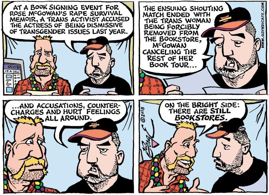 Editorial Cartoon • 02-09-18