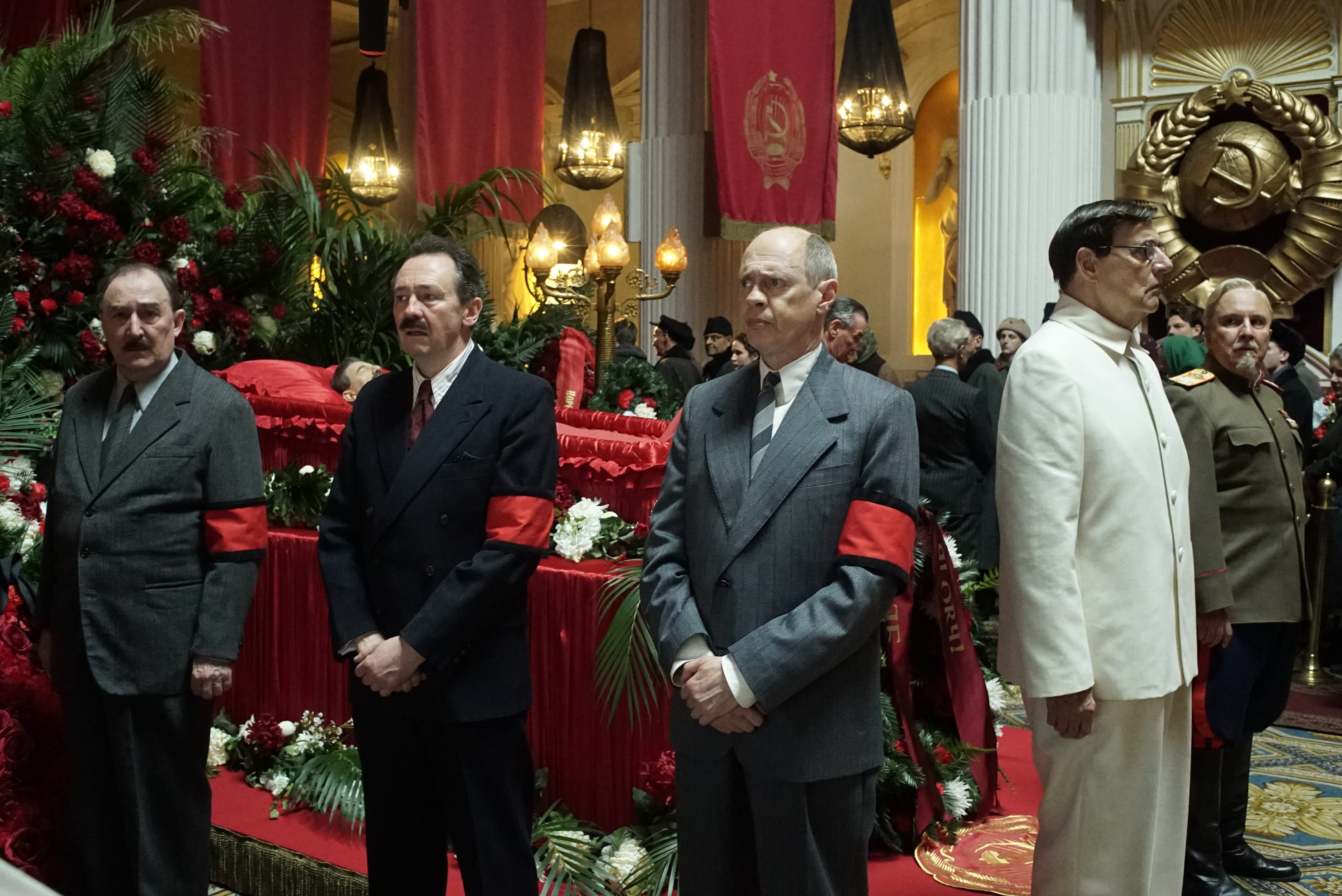 SCREEN REVIEW: 'The Death of Stalin'
