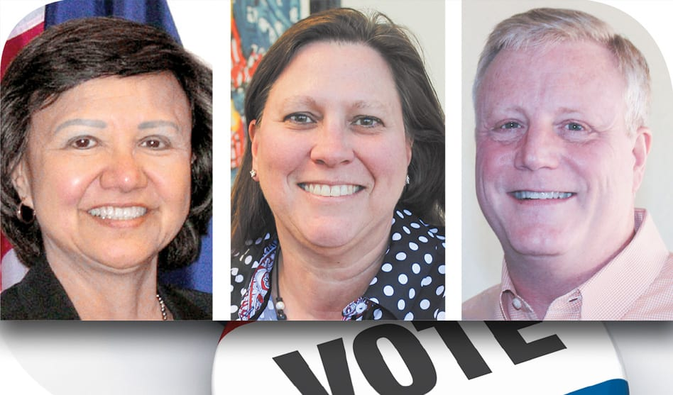 Local candidates get national boost