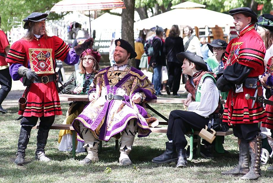 Scenes from 1521: Scarborough Renaissance Festival