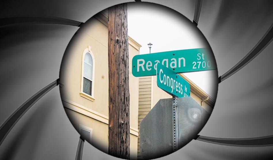 Couple attacked on Reagan Street