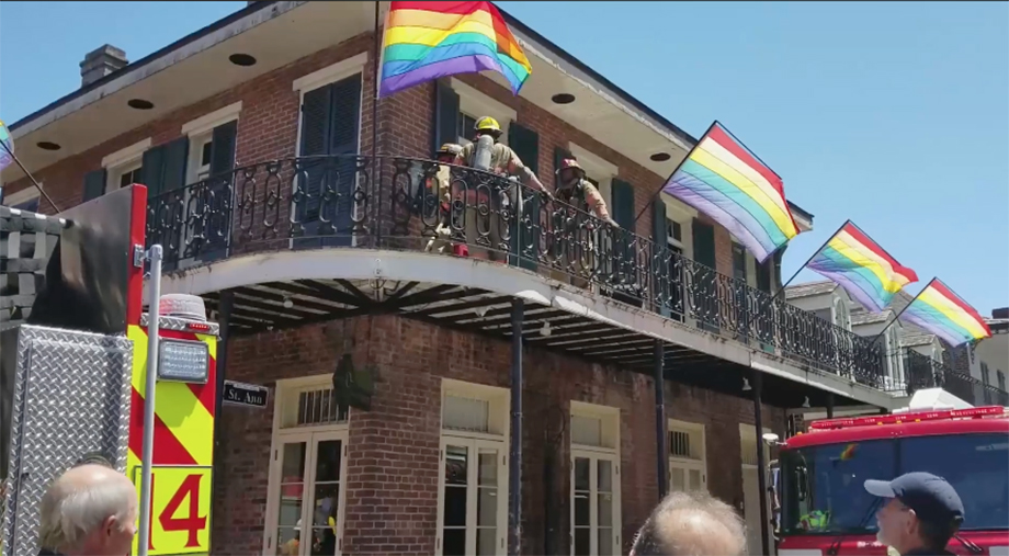 Oz ablaze: No injuries reported in fire at New Orleans gay bar