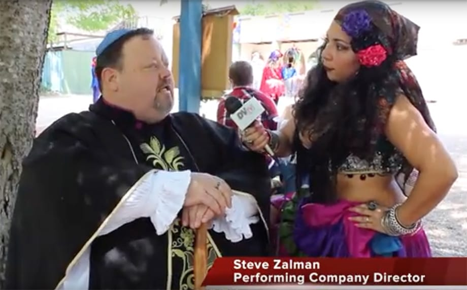 DVtv On The Scene: Brandi & Israel check out Scarborough Renaissance Festival