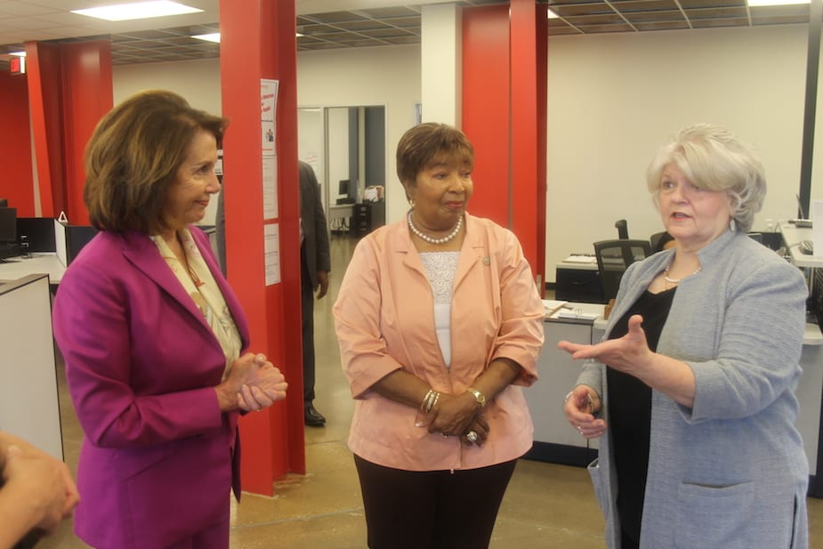 Pelosi hosts roundtable on the 21st Century Workforce in South Dallas