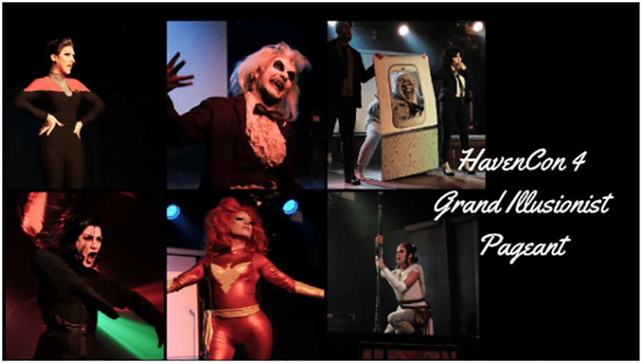 WATCH: HavenCon 4 Grand Illusionist cosplay drag contest on Twitch tonight