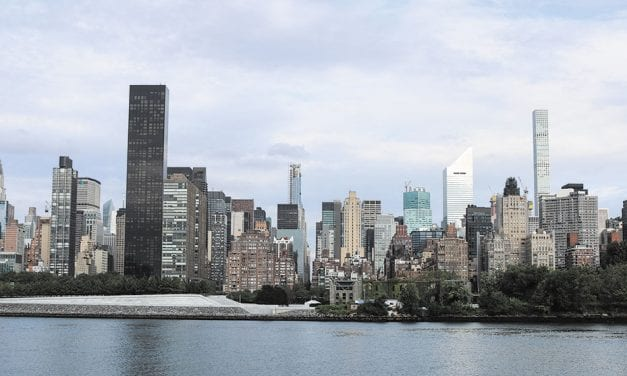 New York from the water