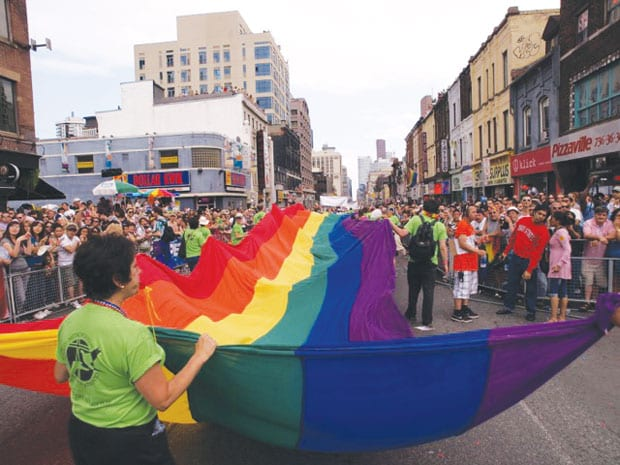 World most popular cities for Pride