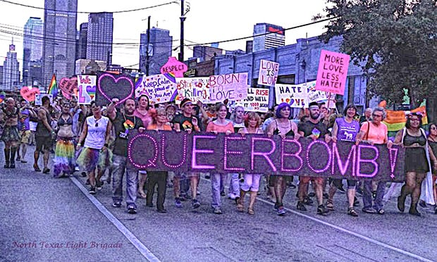 QueerBomb Dallas rescheduled as organizers throw support behind Pride is a Protest march