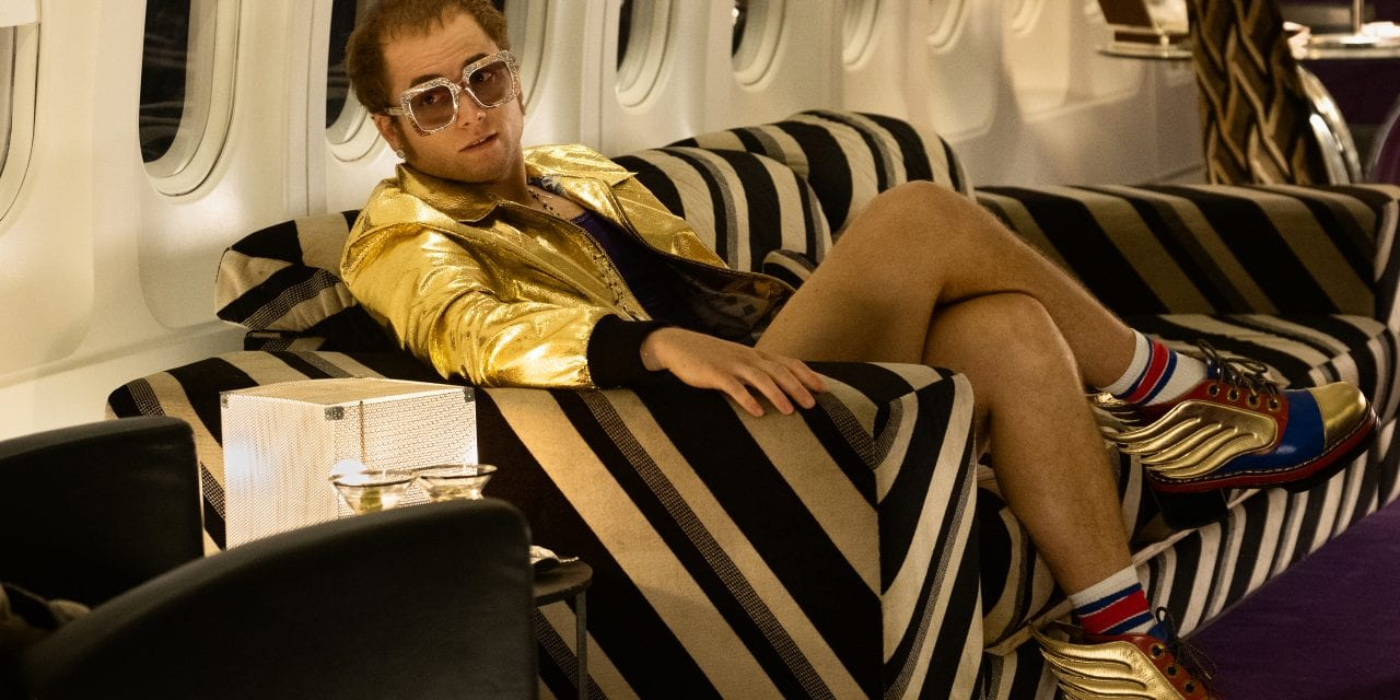 FIRST LOOK: Taran Egerton as Elton John in 'Rocketman'