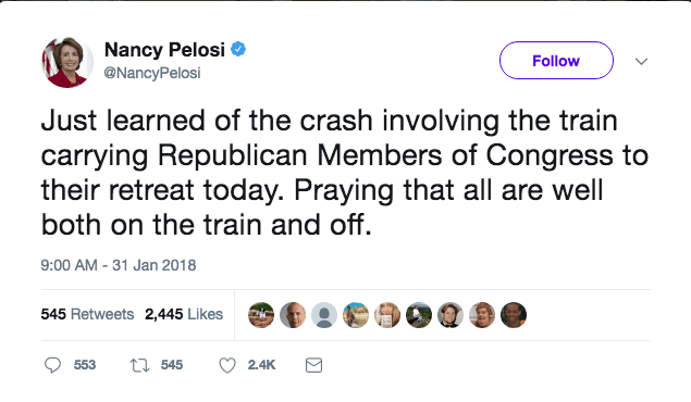 UPDATE: Rep. Pete Sessions on train that hit truck