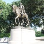Robert E Lee statue has a new home near Terlingua