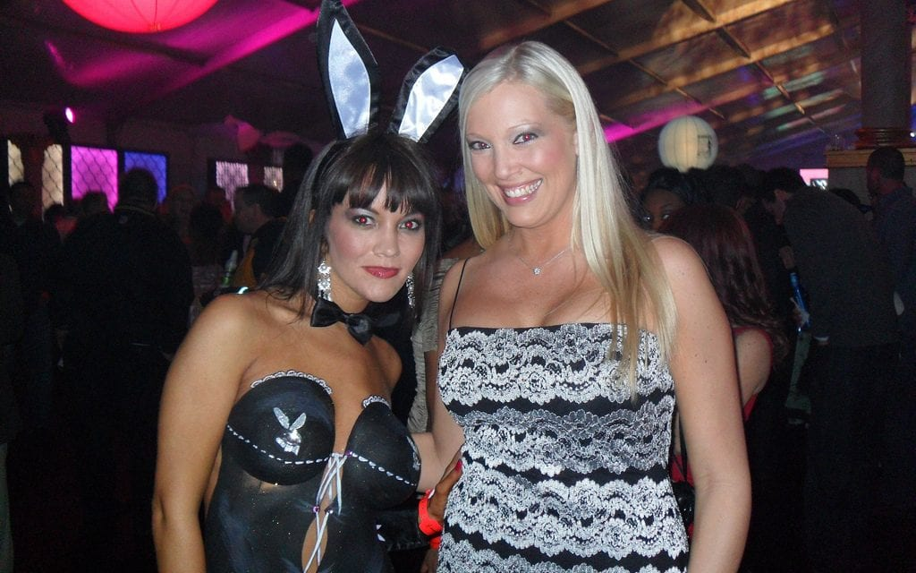 Tinderholt wife #5 shows her conservative values at a Playboy party