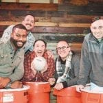 The garbage pail boys at Sue Ellen's