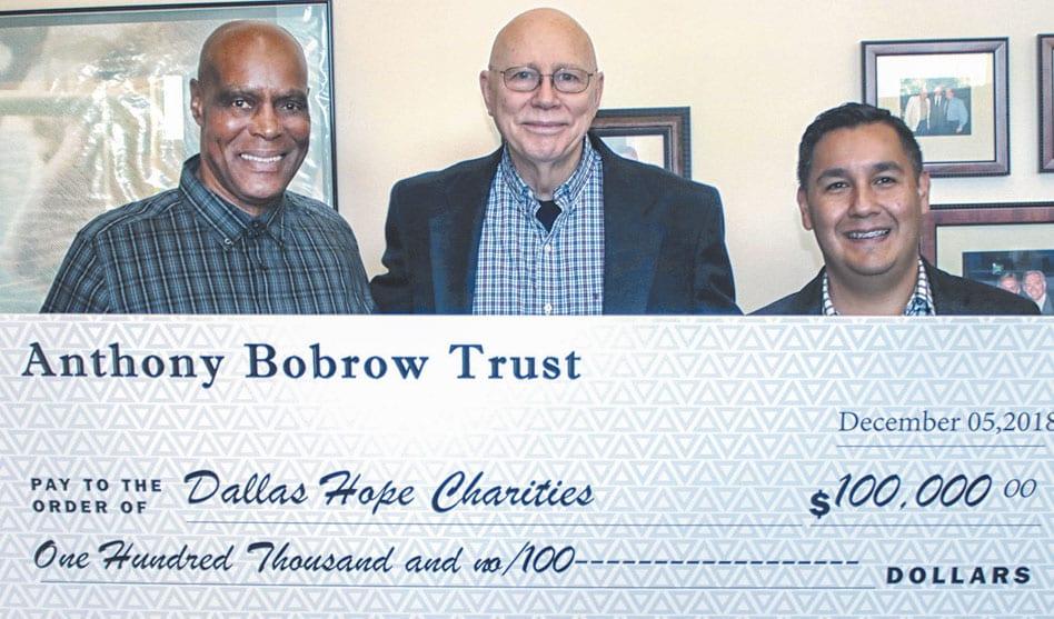 Bobrow Trust donates $100K to Dallas Hope Center