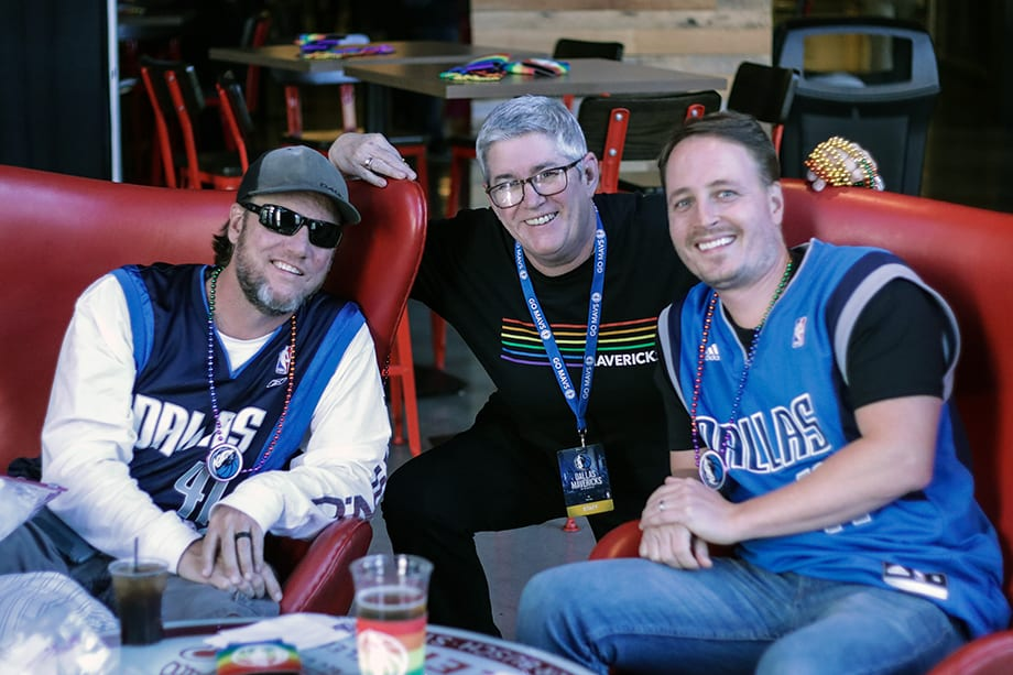 Mavs Pride Night: The Fans