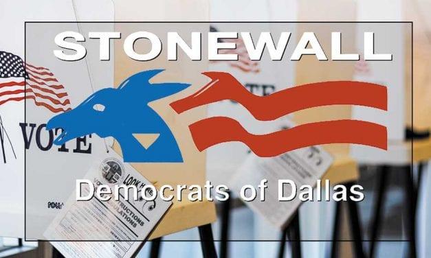 Stonewall Dallas issues endorsements