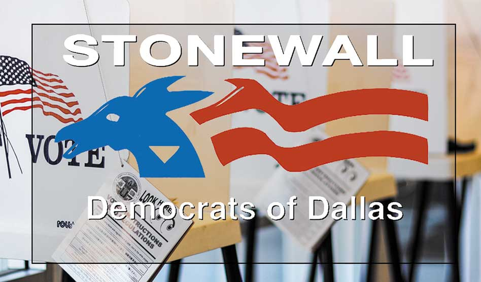 Stonewall Dallas issues endorsements