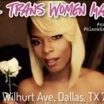 'Black Trans Women Matter' rally is set for Saturday