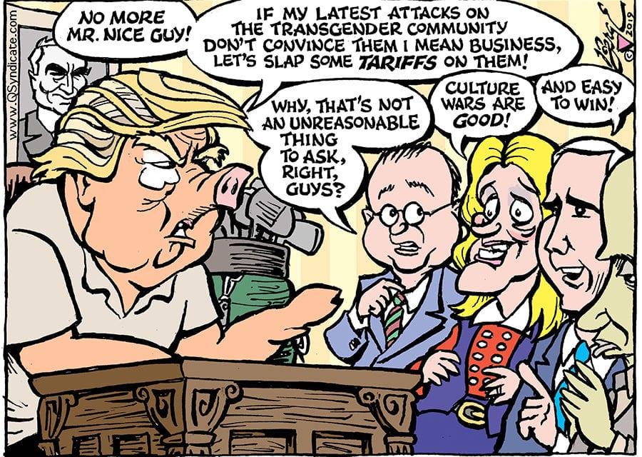 Editorial Cartoon • 06-07-19