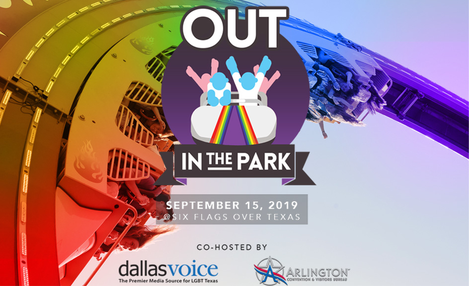 Out In The Park returns! Get your tickets now to celebrate Pride at Six Flags
