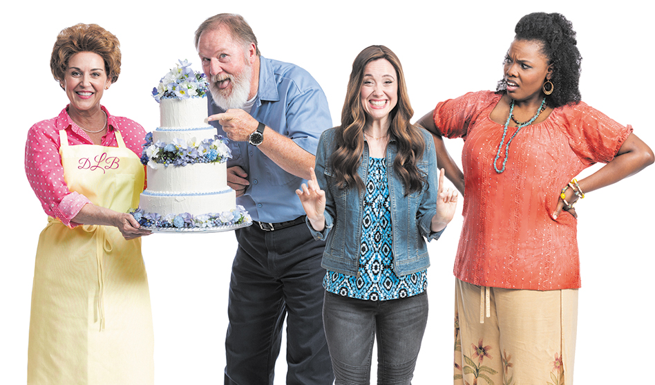 STAGE REVIEW of 'The Cake:' Life from both sides now