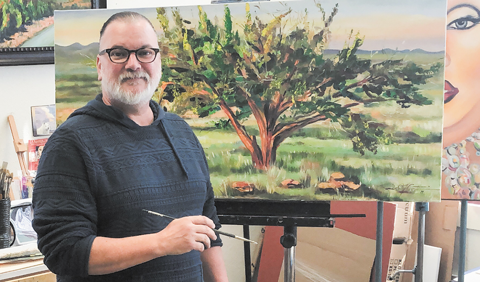 On his  own terms: Richard Curtin's  new artist life